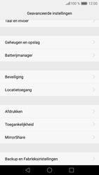 Huawei P9 Lite - Resetten - Fabrieksinstellingen terugzetten - Stap 5