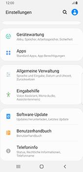 Samsung Galaxy S9 - Fehlerbehebung - Handy zurücksetzen - 6 / 12
