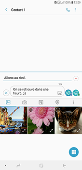 Samsung Galaxy J6 Plus - Contact, Appels, SMS/MMS - Envoyer un MMS - Étape 15