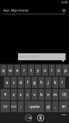 HTC Windows Phone 8X - MMS - Afbeeldingen verzenden - Stap 5