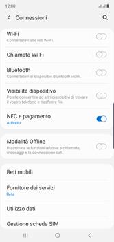Samsung Galaxy Note 10 - Internet e roaming dati - Come verificare se la connessione dati è abilitata - Fase 5