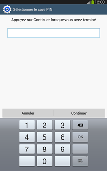 Samsung Galaxy Tab 3 8 4G - Sécuriser votre mobile - Activer le code de verrouillage - Étape 9