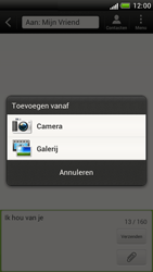 HTC Z520e One S - MMS - Afbeeldingen verzenden - Stap 9