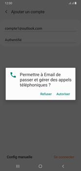 Samsung Galaxy A10 - E-mails - Ajouter ou modifier votre compte Outlook - Étape 9