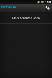 Sony ST27i Xperia Go - E-mail - e-mail versturen - Stap 3
