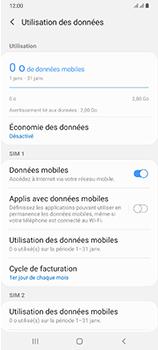 Samsung Galaxy A70 - Internet et connexion - Désactiver la connexion Internet - Étape 6
