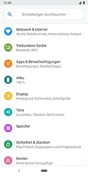 Google Pixel 3 - Netzwerk - Netzwerkeinstellungen ändern - 4 / 9