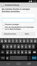Huawei Ascend P6 LTE - E-Mail - Konto einrichten (outlook)