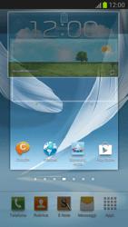 Samsung Galaxy Note II - Operazioni iniziali - Installazione di widget e applicazioni nella schermata iniziale - Fase 8