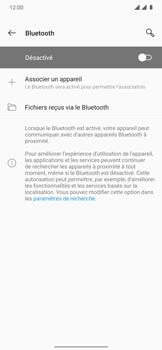 OnePlus 7T Pro - Internet et connexion - Connexion avec un équipement multimédia via Bluetooth - Étape 7