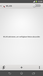 Sony Xperia M2 - WLAN - Manuelle Konfiguration - Schritt 5