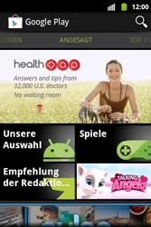 Samsung S5690 Galaxy Xcover - Apps - Konto anlegen und einrichten - Schritt 13