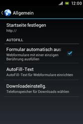 Sony Xperia Miro - Internet - Manuelle Konfiguration - 22 / 26