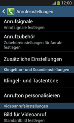 Samsung S7275 Galaxy Ace 3 - Anrufe - Rufumleitungen setzen und löschen - Schritt 6
