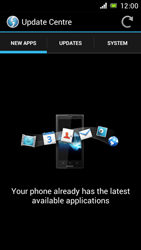 Sony Xperia J - Software - Installing software updates - Step 7