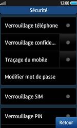 Samsung Wave 2 - Sécuriser votre mobile - Activer le code de verrouillage - Étape 5
