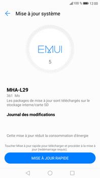 Huawei Mate 9 - Logiciels - Installation de mises à jour - Étape 6