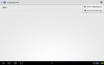 Samsung N8020 Galaxy Note 10-1 LTE - Internet - Handmatig instellen - Stap 8