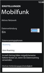 Nokia Lumia 610 - Ausland - Auslandskosten vermeiden - 8 / 8