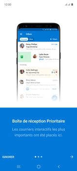 Samsung Galaxy A71 - E-mails - Ajouter ou modifier votre compte Outlook - Étape 11
