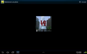 Samsung P5100 Galaxy Tab 2 10-1 - MMS - envoi d'images - Étape 10