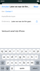 Apple iPhone 6s met iOS 10 (Model A1688) - E-mail - Hoe te versturen - Stap 7