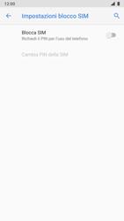Nokia 8 - Android Pie - Operazioni iniziali - Come abilitare il pin della SIM - Fase 7