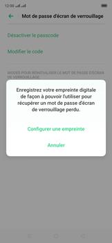 Oppo Reno 2Z - Sécuriser votre mobile - Activer le code de verrouillage - Étape 11