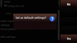 Nokia N97 Mini - Internet - Automatic configuration - Step 5