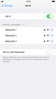 Apple iPhone 8 Plus - Wi-Fi - Connect to a Wi-Fi network - Step 5