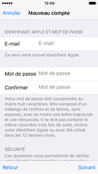 Apple iPhone SE - iOS 10 - Applications - Créer un compte - Étape 12