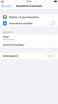 Apple iPhone 8 Plus - iOS 13 - E-Mail - Konto einrichten (gmail) - Schritt 10