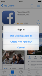 Apple iPhone 5s - iOS 8 - Applications - Create an account - Step 9