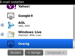 BlackBerry 9300 Curve 3G - E-mail - Handmatig instellen - Stap 8