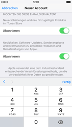 Apple iPhone 6s - Apps - Konto anlegen und einrichten - 2 / 2