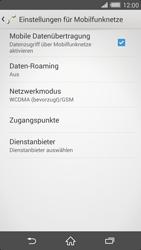 Sony Xperia Z2 - Netzwerk - Netzwerkeinstellungen ändern - Schritt 6