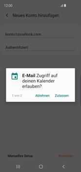 Samsung Galaxy S10e - E-Mail - Konto einrichten (outlook) - 11 / 16