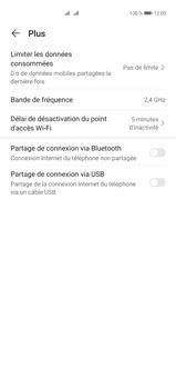 Huawei P40 Pro - Internet et connexion - Utiliser le mode modem par USB - Étape 8