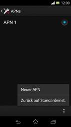 Sony Xperia L - Internet - Manuelle Konfiguration - Schritt 10