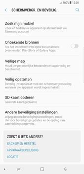 Samsung Galaxy S8 Plus (G955) - Beveiliging en ouderlijk toezicht - Hoe wijzig ik mijn SIM PIN-code - Stap 5