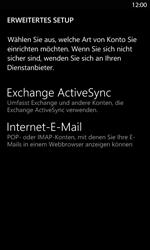 Nokia Lumia 820 LTE - E-Mail - Konto einrichten - Schritt 8