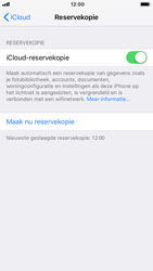 Apple iPhone 7 - iOS 12 - toestel resetten - back-up maken met jouw account - stap 16