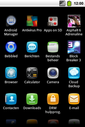 Alcatel OT-991 Smart - e-mail - hoe te versturen - stap 3