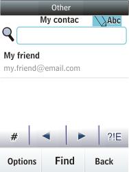 Nokia Asha 300 - E-mail - Sending emails - Step 9