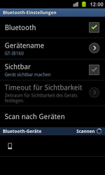 Samsung I8160 Galaxy Ace 2 - Bluetooth - Geräte koppeln - Schritt 9