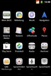 BASE Varia - SMS - Manuelle Konfiguration - Schritt 3