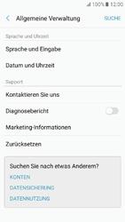 Samsung Galaxy A3 (2017) - Fehlerbehebung - Handy zurücksetzen - 7 / 12