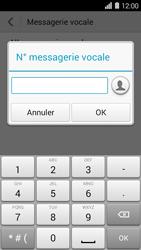 Huawei Ascend Y550 - Messagerie vocale - Configuration manuelle - Étape 7