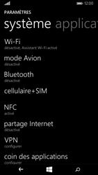 Microsoft Lumia 535 - Internet et roaming de données - Comment vérifier que la connexion des données est activée - Étape 4