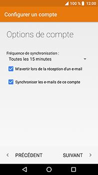 Crosscall Trekker X4 - E-mails - Ajouter ou modifier un compte e-mail - Étape 22